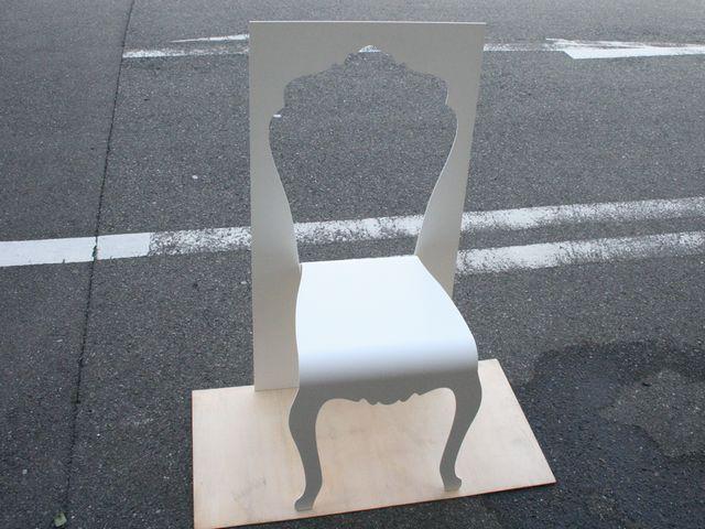 アート椅子の製作画像