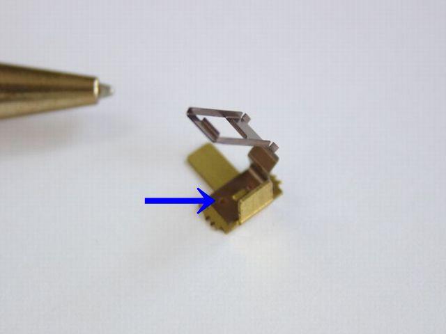 接点・端子のスポット溶接画像