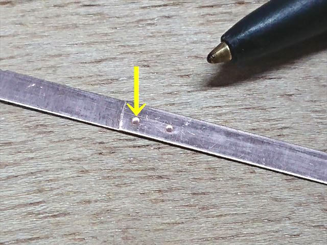 YCuT-M(銅合金)のスポット溶接テスト画像