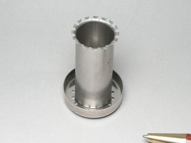 調理器具部品のプロジェクション溶接画像