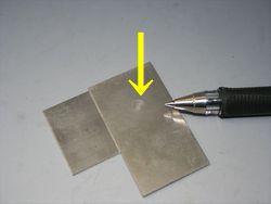 溶着テスト マグネシウム合金画像