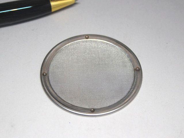 80メッシュ 円盤型メッシュフィルター画像