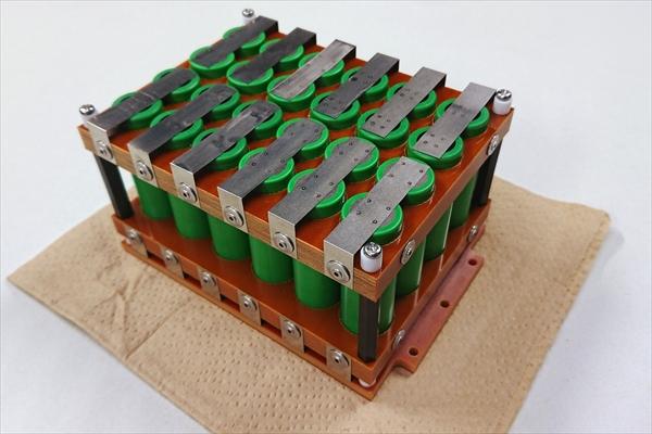 組電池の製作 (18650リチウムイオン電池)画像