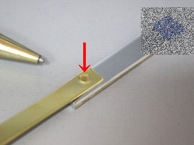 真鍮のプロジェクション溶接画像