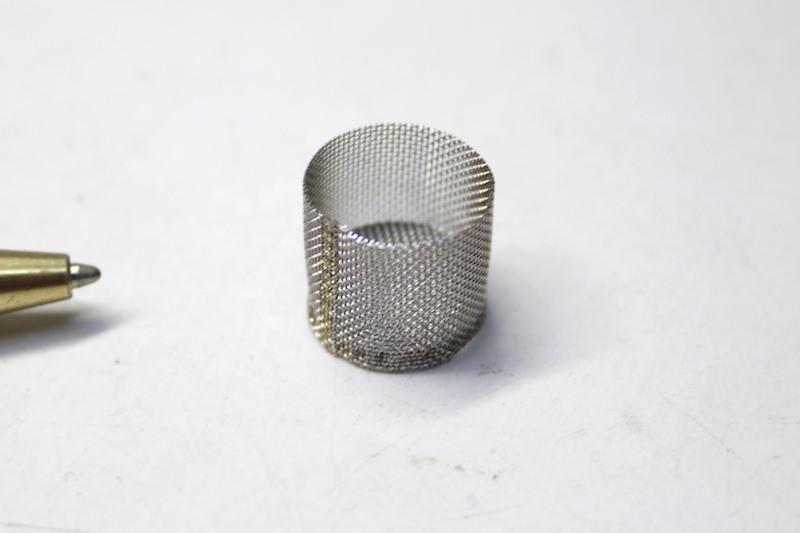 60メッシュ 円筒フィルター製作事例画像