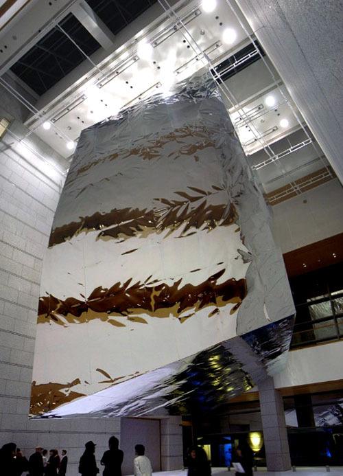 特殊構造物「アルミバルーン」製作プロデュース画像