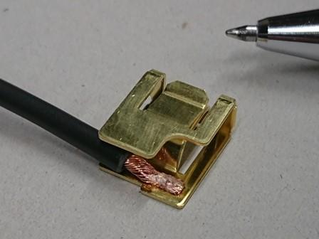 銅と真鍮のスポット溶接画像