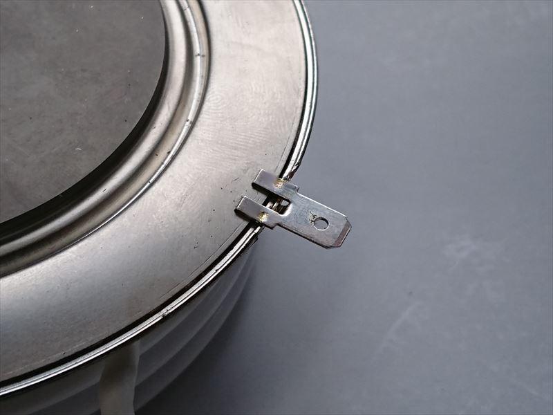 スポット溶接による端子修理画像