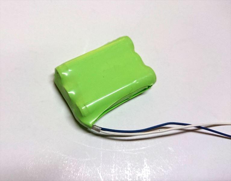 ニッケル水素組電池の製作画像