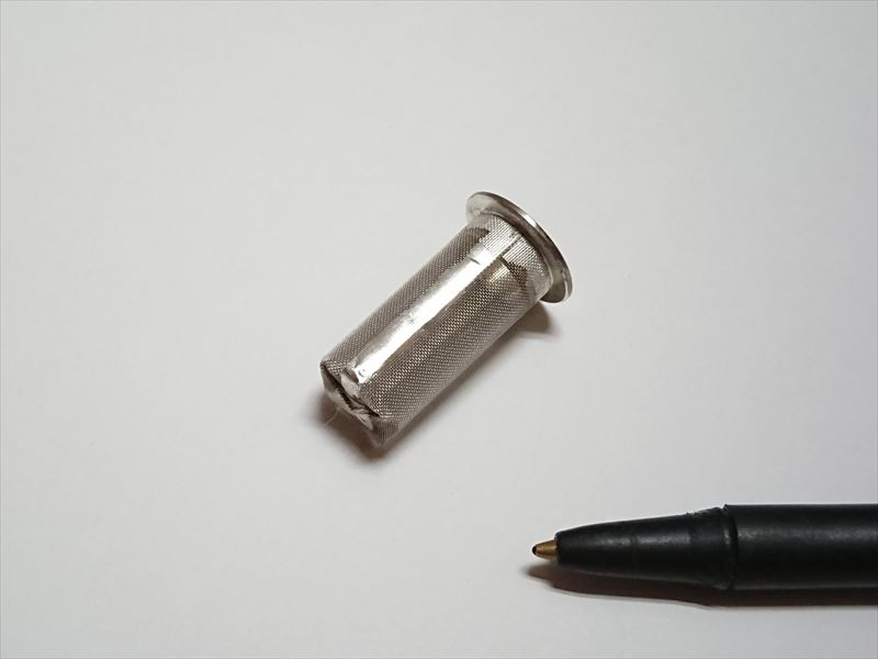 金属メッシュフィルターのハンダ付け(SUS製)画像