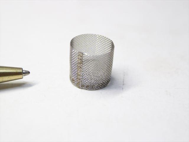 円筒メッシュフィルター (φ10×11H) 製作画像
