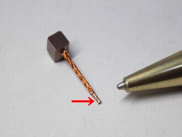 銅撚り線のヒュージング画像