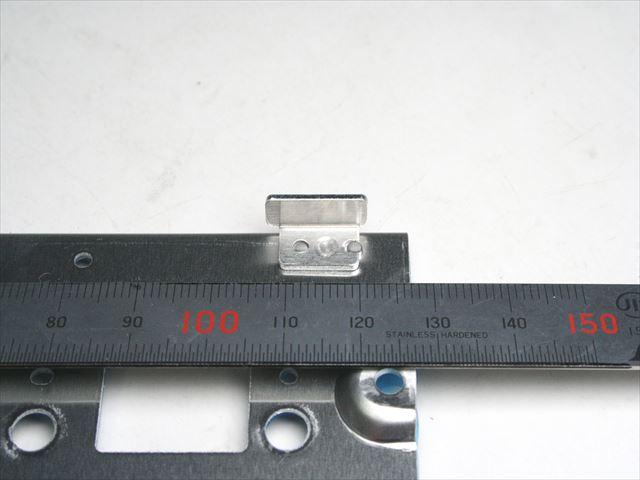 アルミ板金部品 溶接範囲5mmのスポット溶接画像
