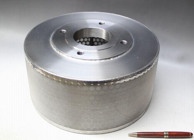 サクションストレーナーのオーダー製作画像
