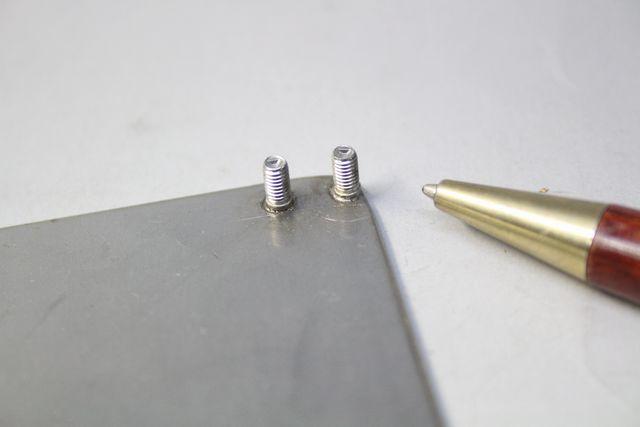 SUS304 M3 溶接歪を抑えたスタッド溶接