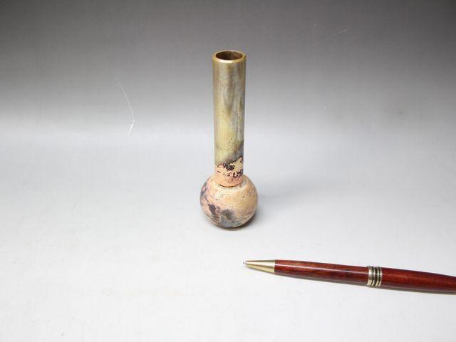 装飾部品の銀ロウ付け画像