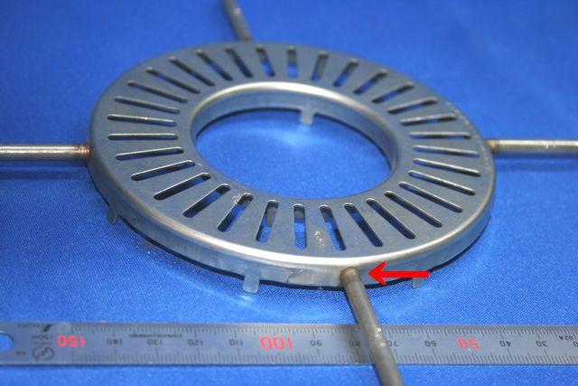 調理器部品の接合の合理化提案(薄板・線材のバット溶接)画像