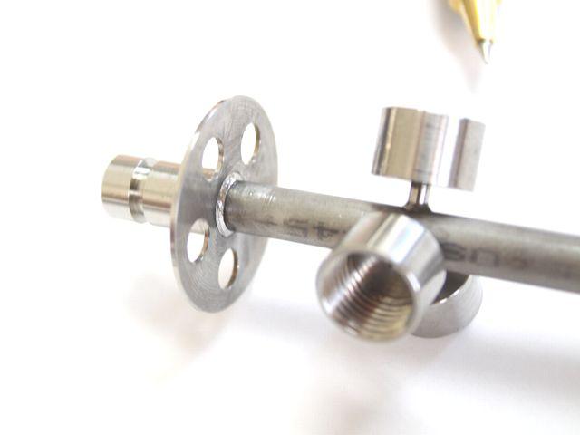レーザー溶接による、気密溶接