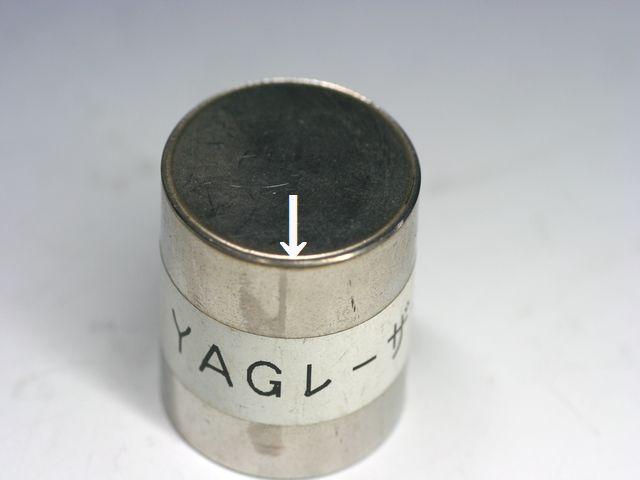 ステンレスt2.0パイプと円板t0.6のレーザー溶接(精密溶接)