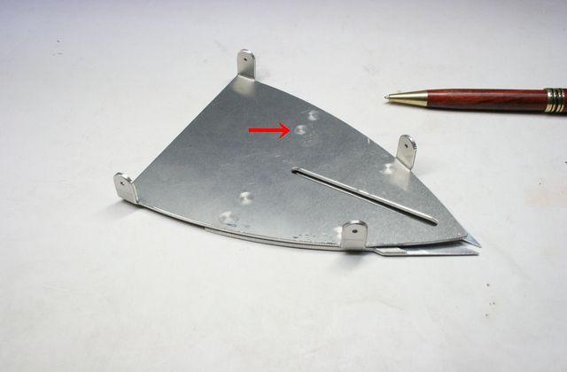 アルミ スポット溶接 受託加工画像