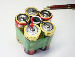 アルカリ単1組電池画像