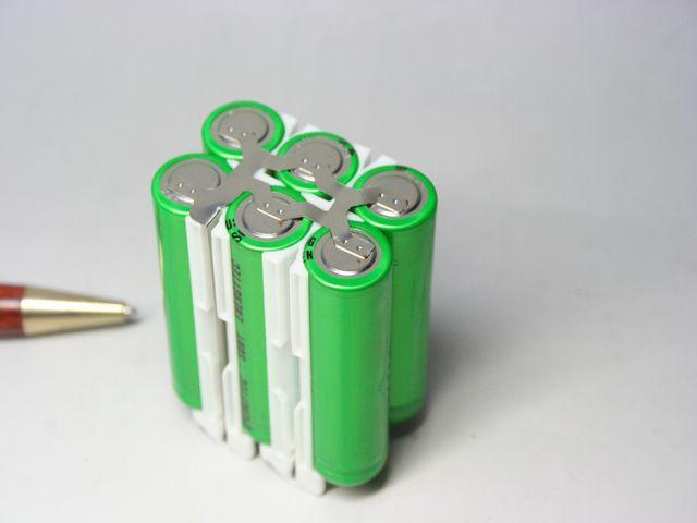 リチュムイオン組電池画像