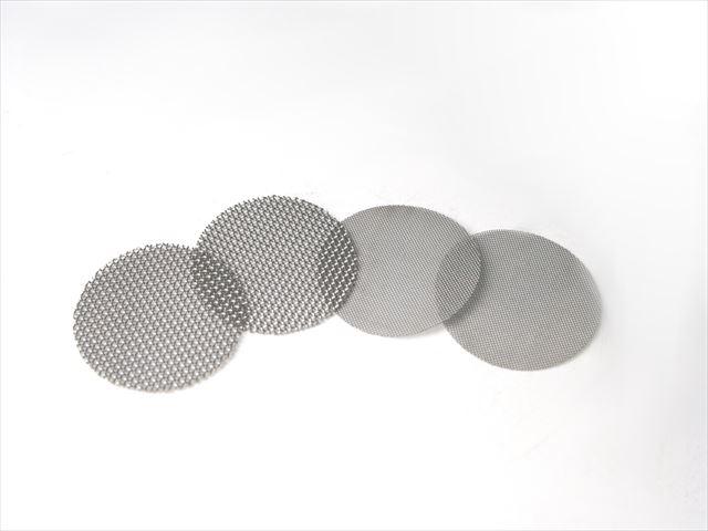 金属メッシュ 形状 型抜き加工画像