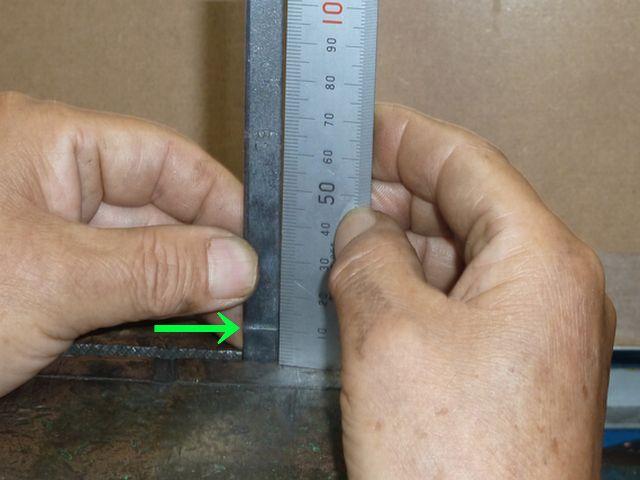 炭素鋼平板の、バット溶接テスト画像