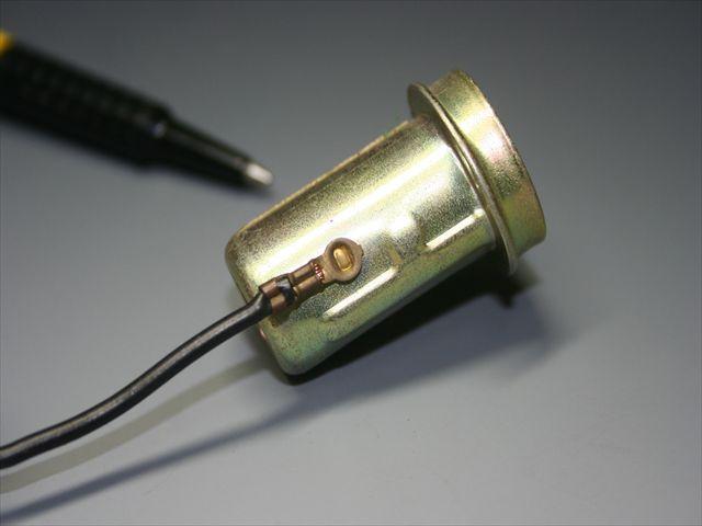 銅線のヒュージング加工とスポット溶接画像
