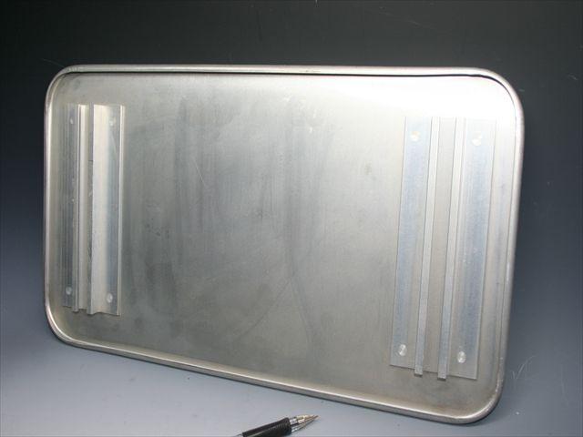 道路標識のスポット溶接(アルミニウム)画像
