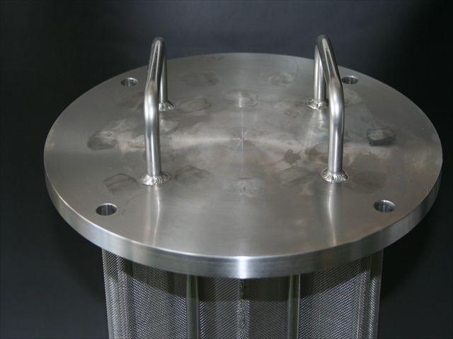 電力会社 冷却水用ストレーナー フィルター画像