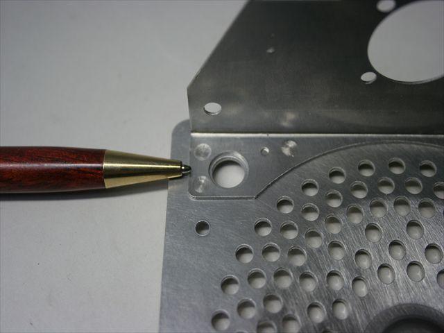 アルミスポット溶接(t0.8とt1.2のスポット溶接)画像
