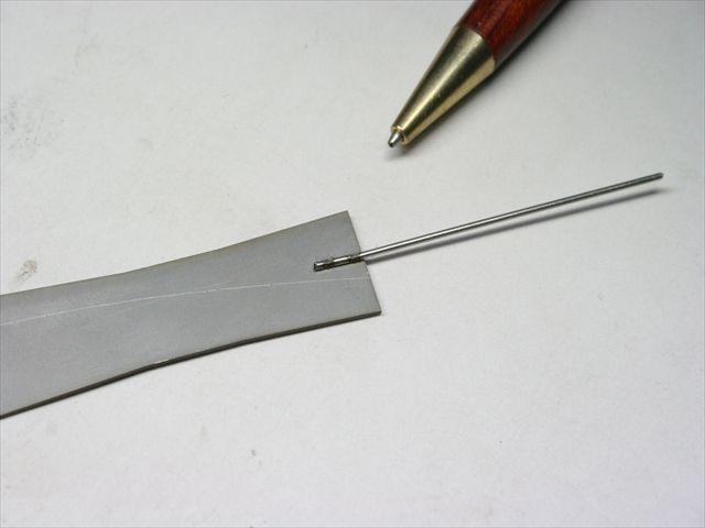 ステンレス板材と線材のスポット溶接画像