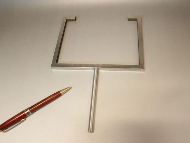 研究開発用部品のアーク溶接画像
