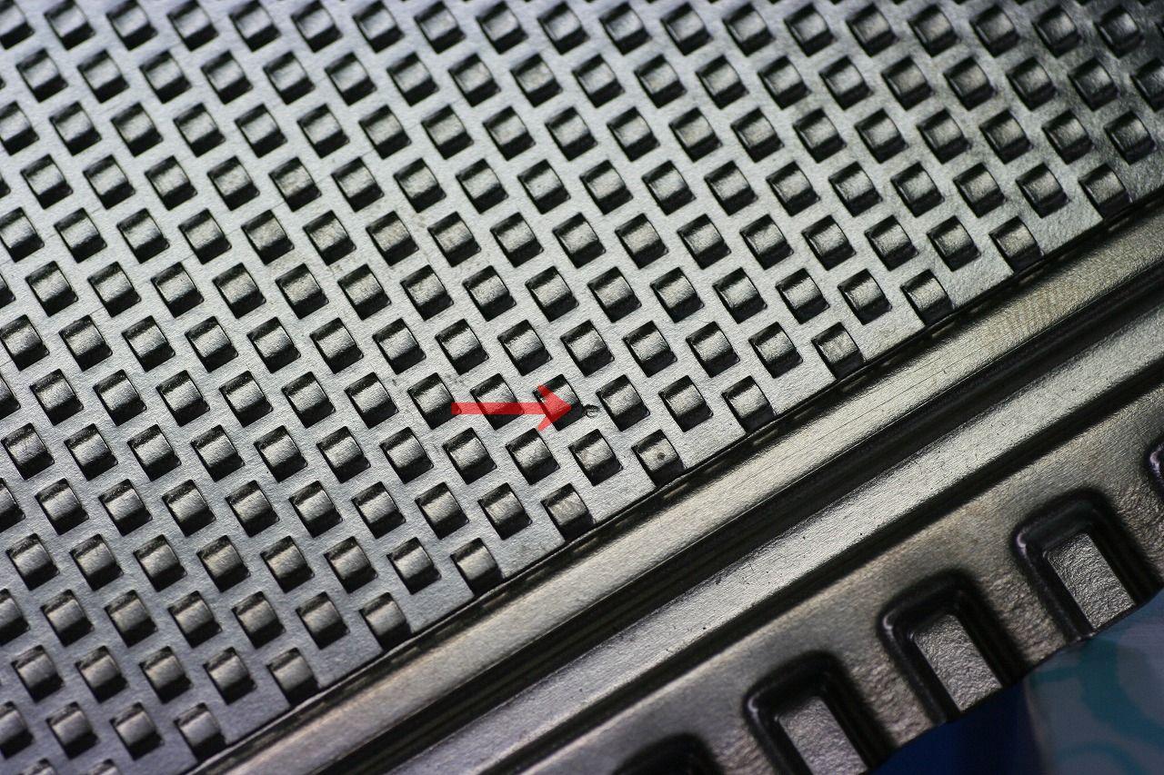 チタン材精密スポット溶接加工画像