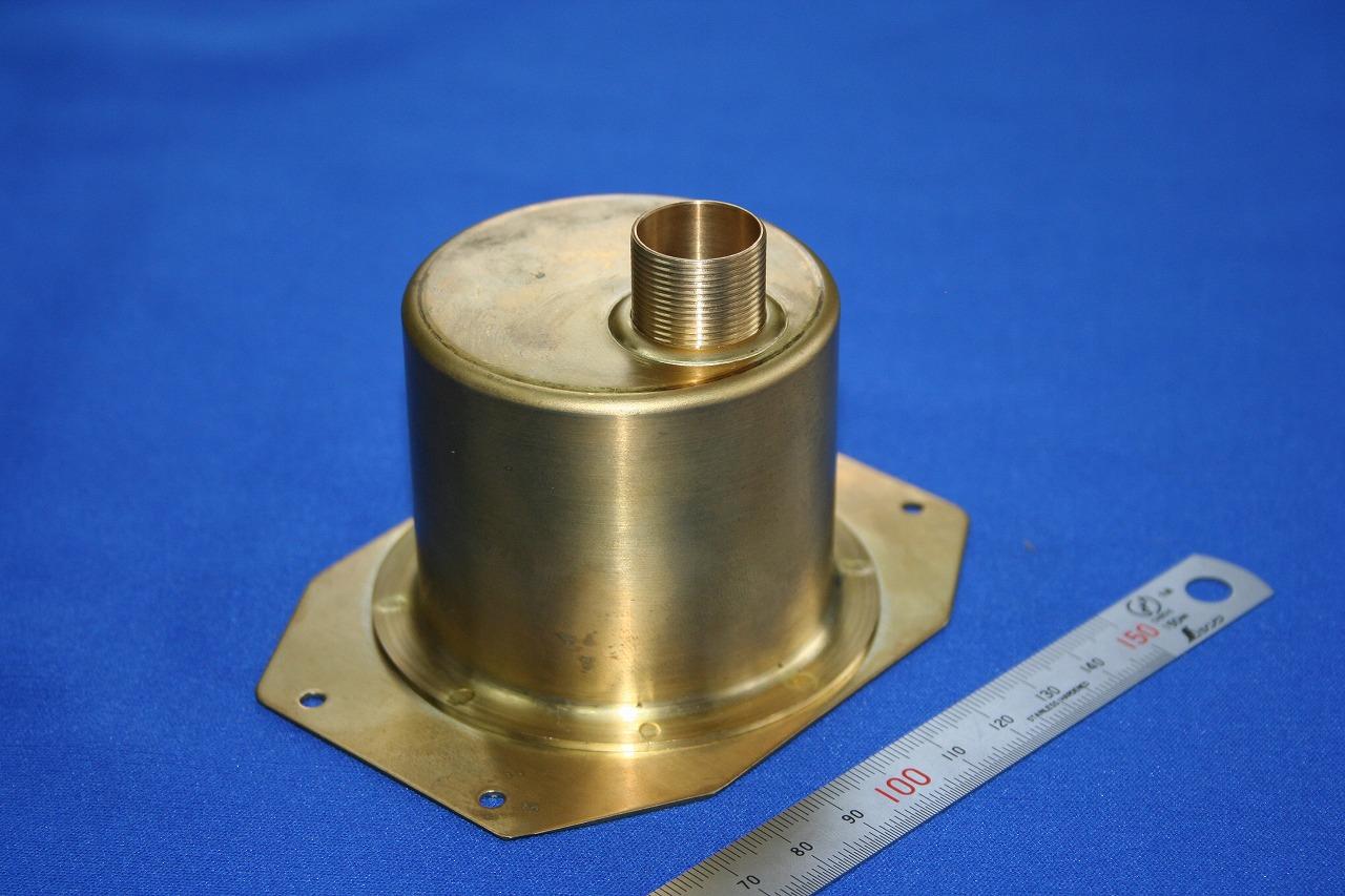 産業機器部品 真鍮スポット溶接
