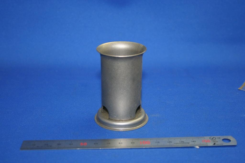 線香立ての接合の合理化(プロジェクション薄板溶接)画像